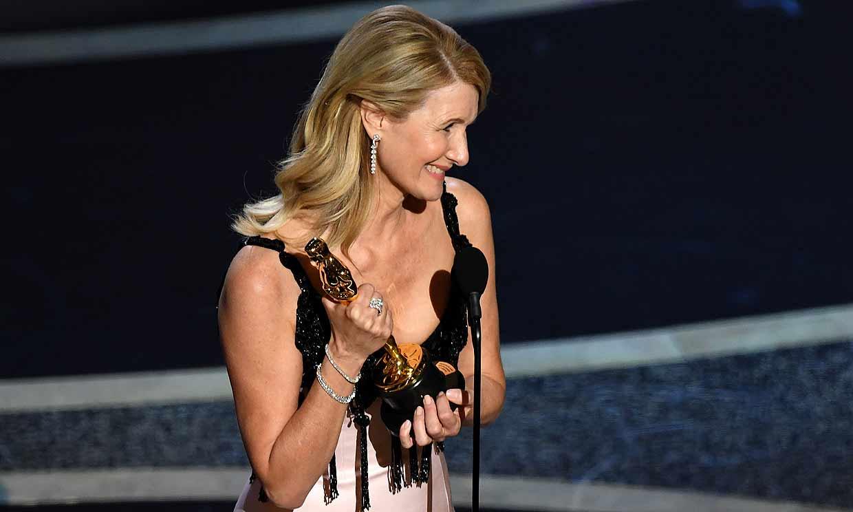 A la tercera va la vencida, el emocionante discurso de Laura Dern al ganar el Oscar ¡en su cumpleaños!