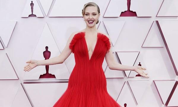 Premios Oscar 2021: Amanda Seyfried arriesga y gana con el vestidazo de tul  que no esperábamos