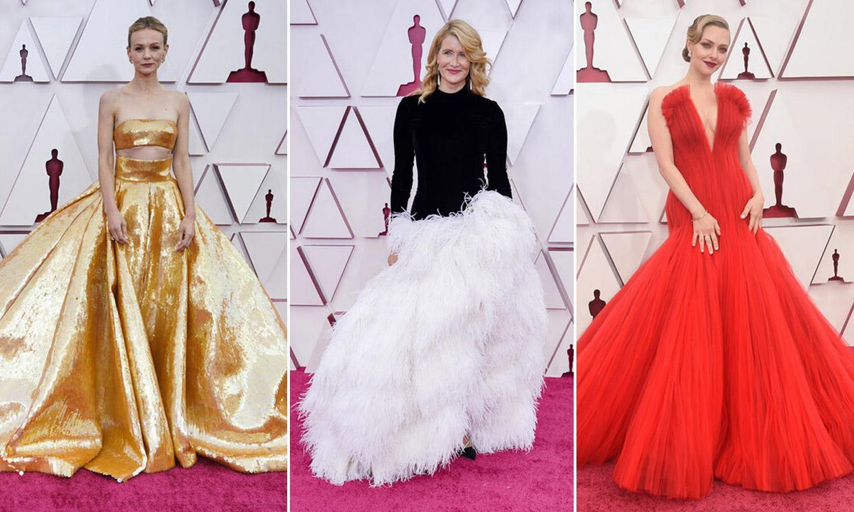 Votación: Elige a la invitada mejor vestida de los Oscar 2021