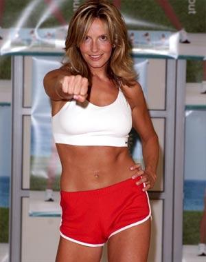 Penny Lancaster comparte sus trucos para estar en forma