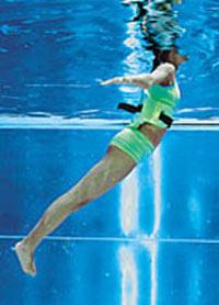 'Aquafitness', aerobic dentro del agua