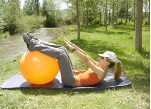 ¡A entrenar con un balón gigante!