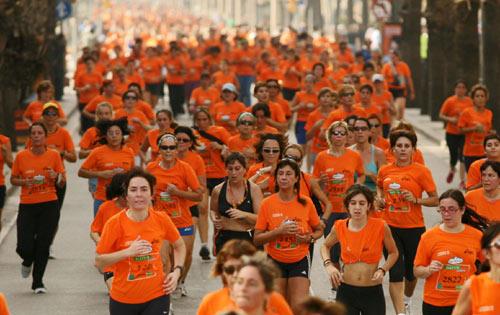 Kilómetros solidarios contra el cáncer