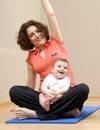 Ponerse en forma después del embarazo en compañía de tu bebé... ¡es posible!