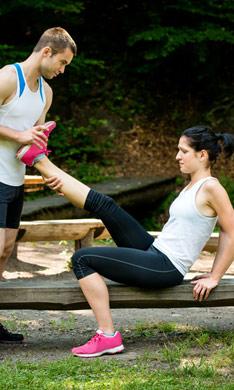 S.O.S: ejercicios para recuperarte de un esguince de tobillo