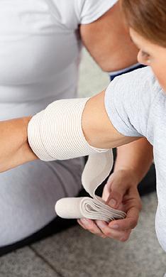 Qué hacer ante una lesión entrenando