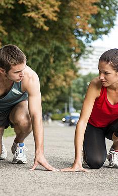 Entrenar con tu pareja: ¿una buena idea?
