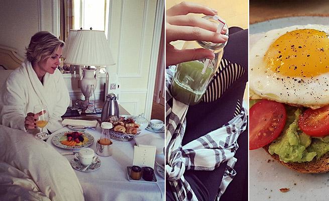 ¿Qué desayunan las 'celebrities' para estar en forma?