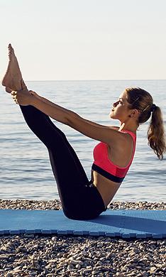 ¡La playa puede ser tu mejor gimnasio!