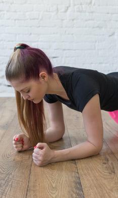 ¡Quema calorías con estos ejercicios en plancha!