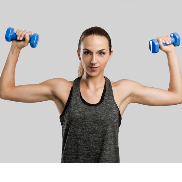 Videos para hacer ejercicios con mancuernas