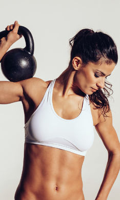¡Dale forma a tus músculos!
