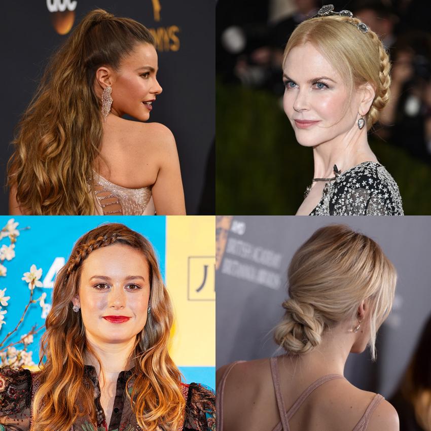 10 Peinados Faciles Para Pelo Largo Inspirados En Famosas Foto