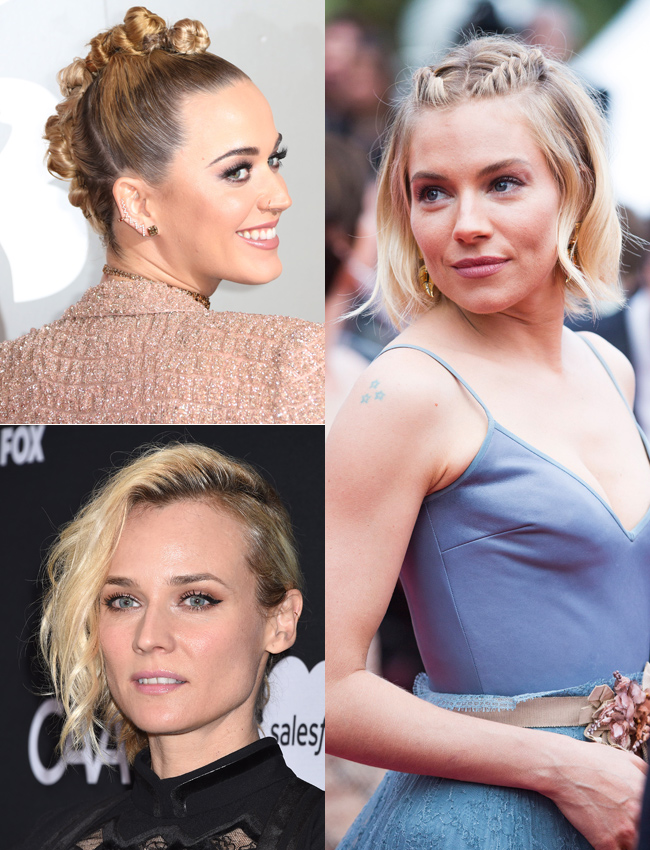 los mejores peinados para pelo corto inspirados en famosas
