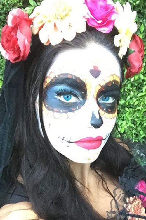 Halloween Cómo Hacer Un Maquillaje De Catrina Mexicana Paso A Paso