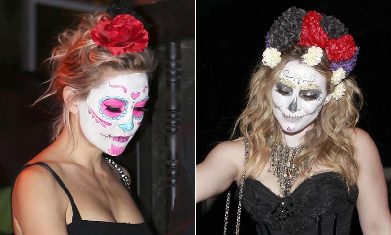 Maquillaje para Halloween: ¿Quieres triunfar? ¡Decídete por la catrina mexicana!