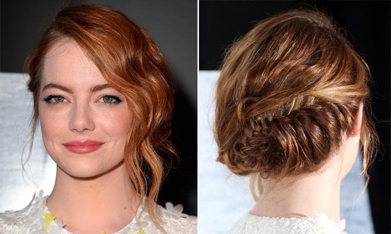 Peinados recogidos en melena corta