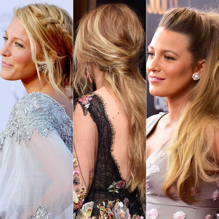 Blake lively peinados recogidos