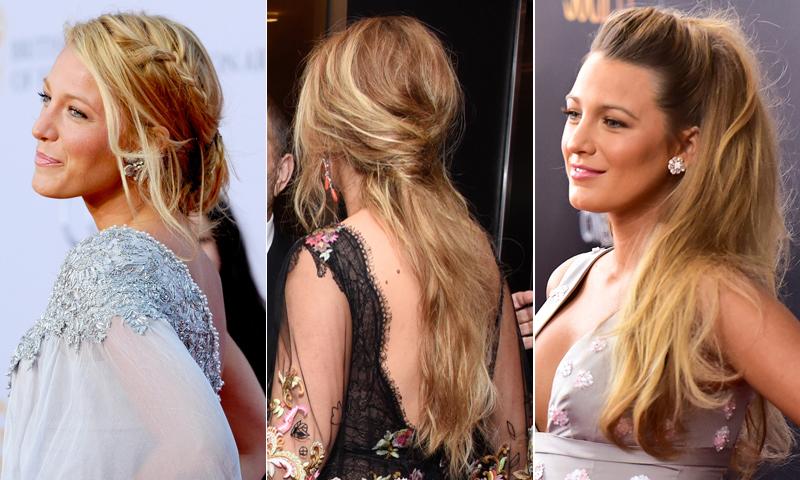 10 peinados fáciles y bonitos inspirados en Blake Lively para que brilles en tu próxima fiesta