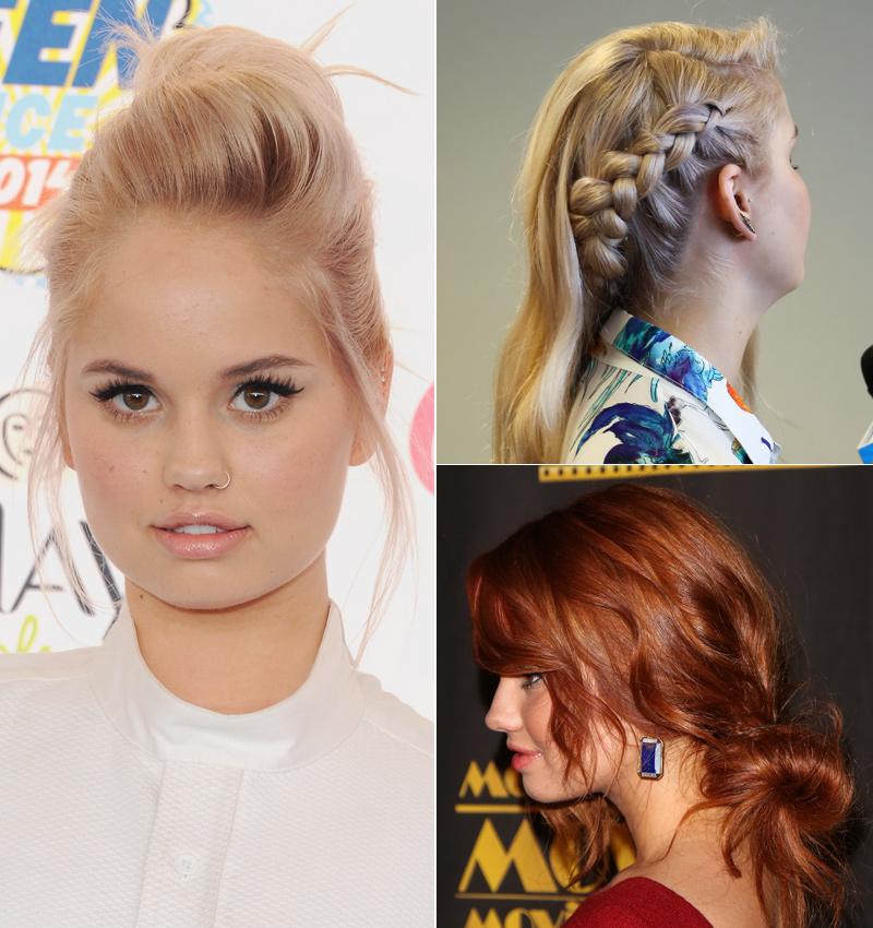 ¿Buscas un peinado fácil, pero muy chic? Inspírate en los 'looks' de Debby Ryan