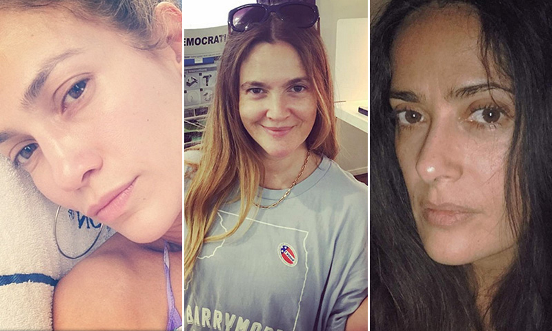 'No make up': ¡Las 'celebrities' sin maquillaje que te costará reconocer!