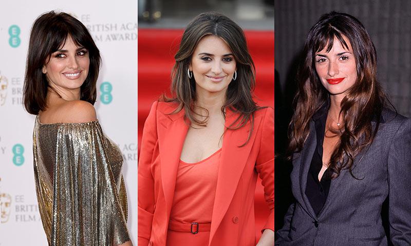 Los cambios de 'look' de Penélope Cruz antes de convertirse en Donatella Versace