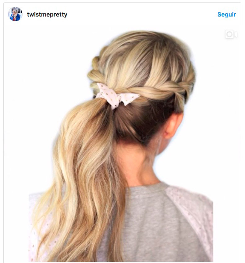 peinados fciles con pauelo verano - Peinados Fciles
