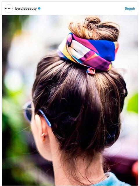Peinados Fáciles 10 Recogidos Con Pañuelo Muy Chic Foto 1