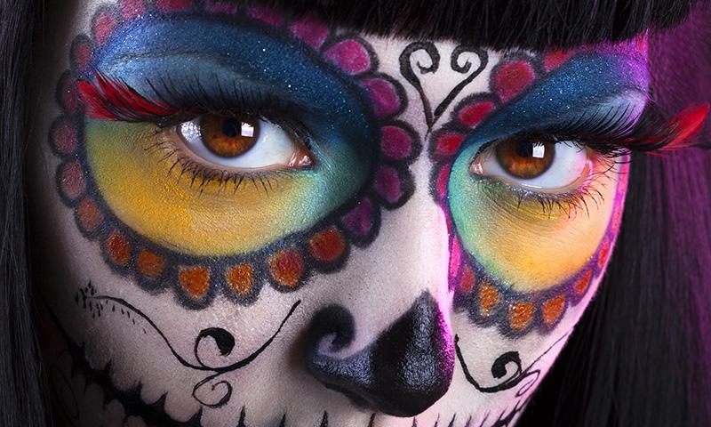 ¿ Truco o Trato ? Maquillaje-halloween-t