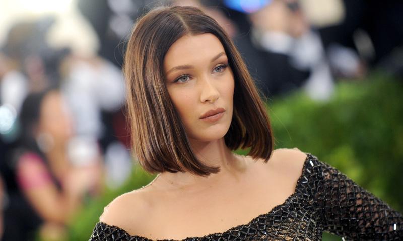 Corte de cabello cuadrado corto