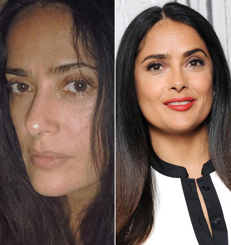 15d21b153 Así lucen las celebrities con y sin maquillaje, ¿cómo están mejor ...