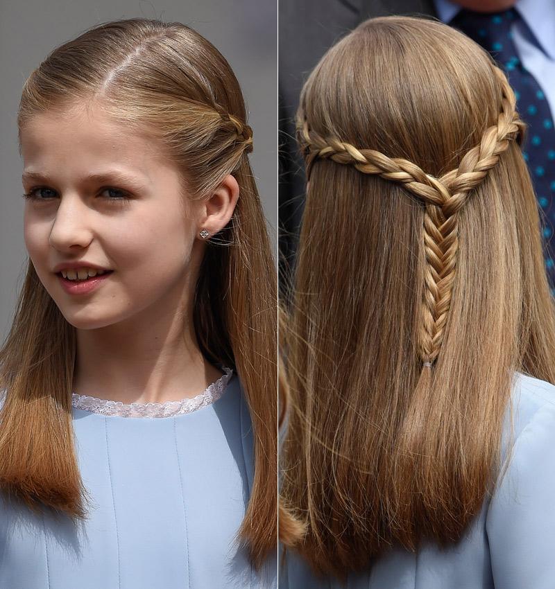 las trenzas de la princesa sofa - Peinados Con Trenzas