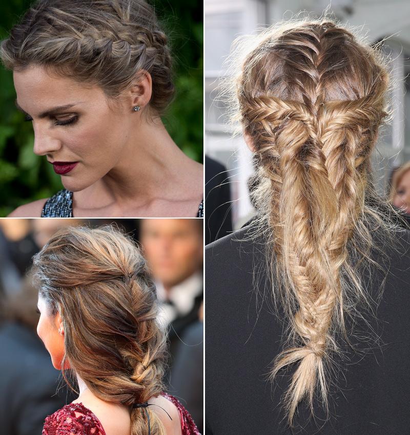 siete peinados con trenzas para dar a tu look un toque medieval foto 1 - Peinados De Trenzas