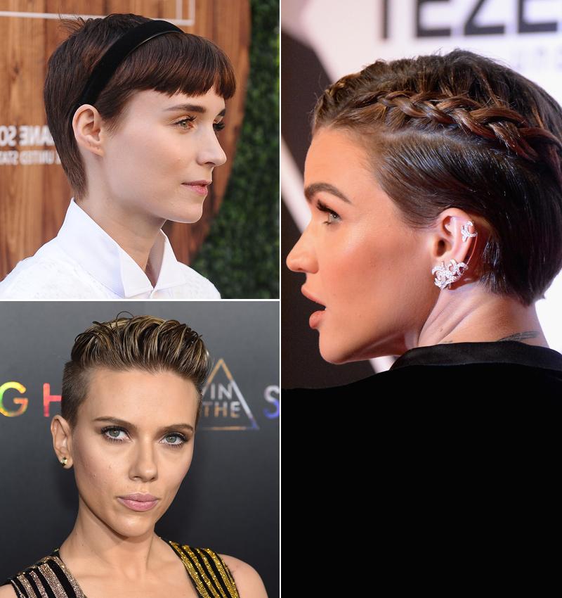 Siete Peinados Faciles Para Cortes De Pelo Pixie Foto
