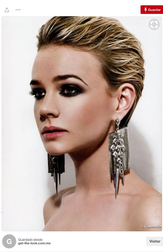 Siete Peinados Faciles Para Pelo Corto Inspirados En Pinterest Foto