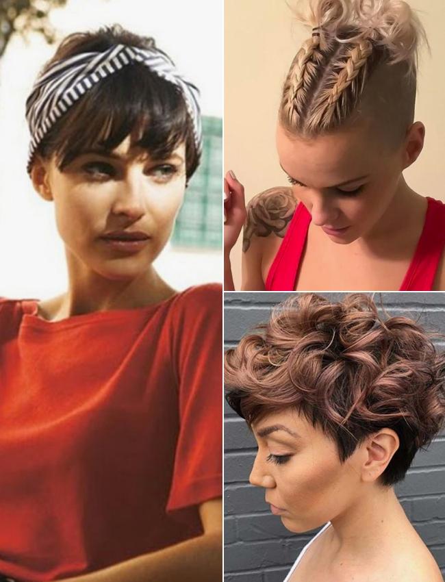 Siete maneras de peinar el pelo corto y conseguir un look