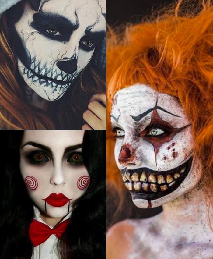 siete maquillajes de halloween - Maquillajes De Halloween