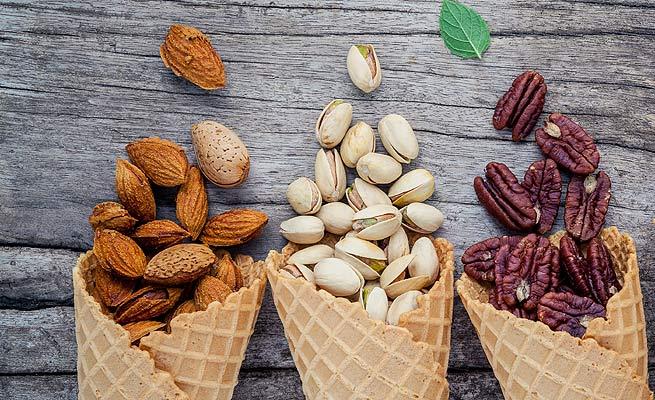 Beneficios de los frutos secos para adelgazar