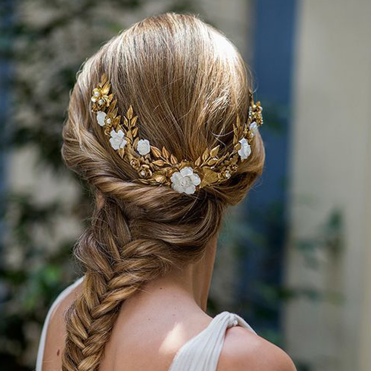Siete Ideales Peinados Para Novias Para Combinar Con Tocados