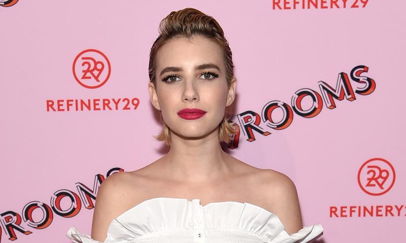El 'wet look' con tupé de Emma Roberts y otros peinados para lucir tu corte 'short bob'