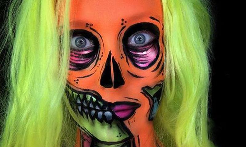 Halloween 2017: Tres maquillajes fluorescentes para un look de ...