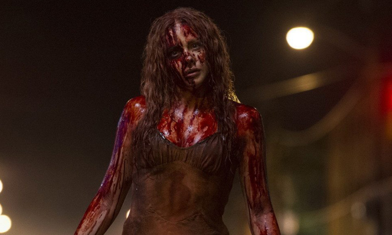 El maquillaje de 'Carrie' de Chloë Grace Moretz y otros 'looks' de 'celebs' para Halloween