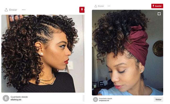 Peinados Sencillos Para Cabellos Rizados