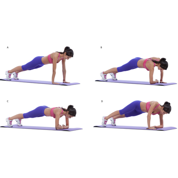 como hacer correctamente planchas abdominales