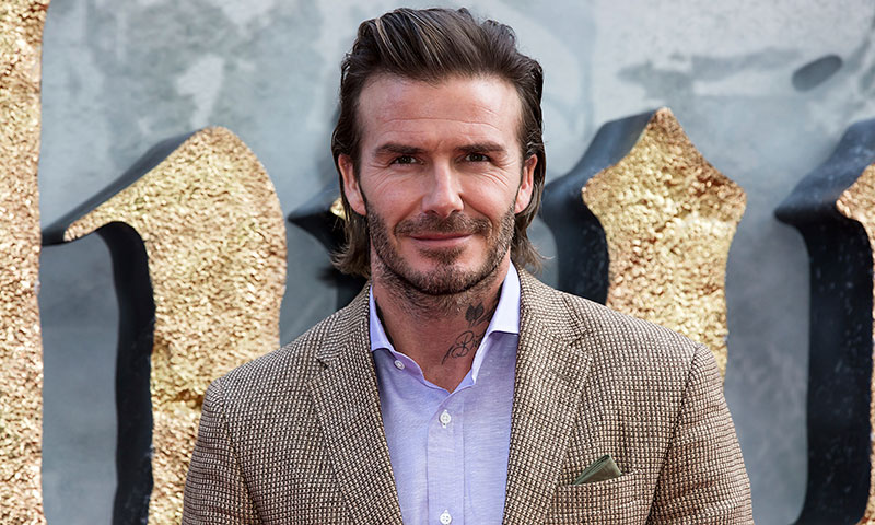 David Beckham confiesa que quiere envejecer de manera natural