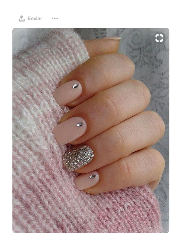 Ocho Ideas De Uñas Decoradas Vistas En Pinterest Foto