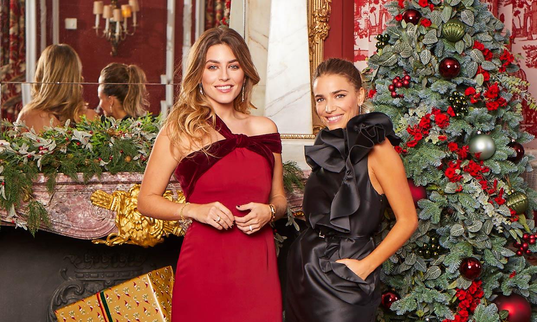 Flora González y Natalia Cebrián: sabemos el secreto de sus peinados en casa estas navidades
