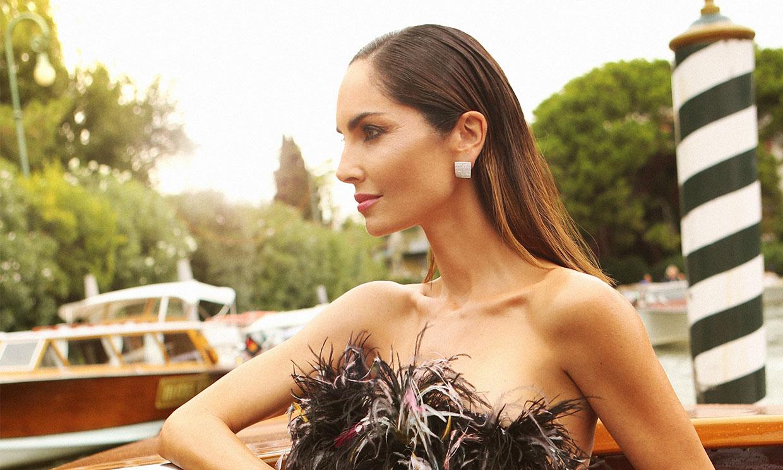 Eugenia Silva desvela a HOLA.com sus trucos de maquillaje para brillar en la 'red carpet'