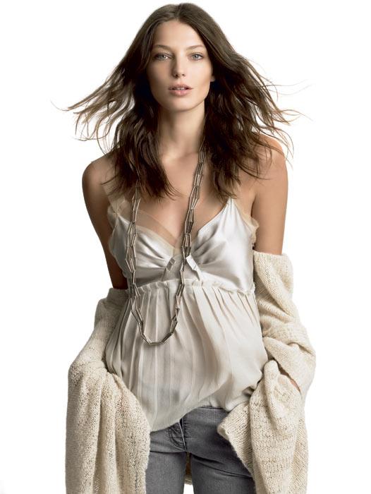 La 'top model' Daria Werbowy crea una colección de maquillaje