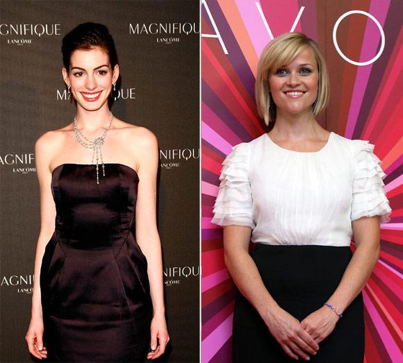 Anne Hathaway y Reese Witherspoon, embajadoras de excepción de dos firmas cosméticas